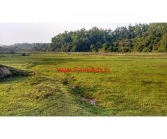 2 acre plain land for sale , 48 km from Chikkamgaluru city