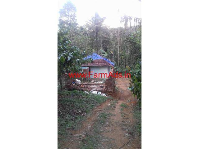 6 Acre Land with a small Home for sale in Manathavady Wayanad
