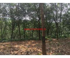 2000 Acre Rubber Estate for sale Goa, 55 KMS from Panjim