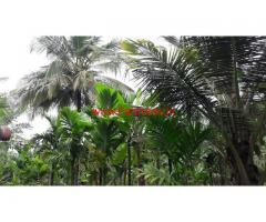 4 acres Farm Land with ready farm house for sale 40 km from Mysore