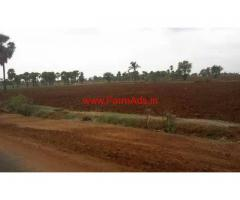 Agriculture land red soil for sale at Nalgonda