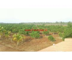 120 Acres Farm Land for sale. 100 Kms from Kukatpally