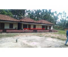 30 acre Coffee Estate with Home Stay Property for sale at Jaipura - Koppa