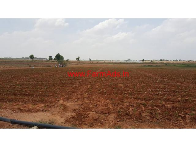 40 acres agricultural farm land for sale located at Penukonda