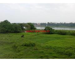 32 cents River view farm land for sale at Aluva Manjapetty