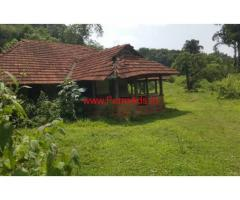 2 acre scenary farm land with an old illam in mananthavady Wayanad for sale