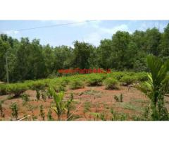 10.5 acres plus 2 acres kumki land and farm house for sale at Mudubelle.