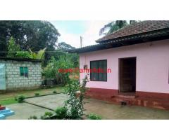 33 Cents Land and Tiled House for sale at Kukkikatte, Manipal