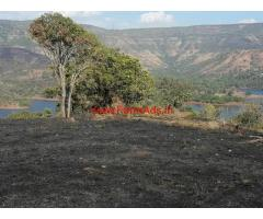 13 Acres Lake view Farm land for sale near Mahabaleshwar