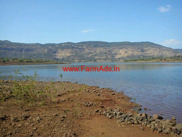 1 acre Dam touch agriculture land for sale near Lonavala