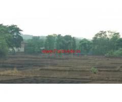 4.75 Acres agriculture land for sale near Lanja