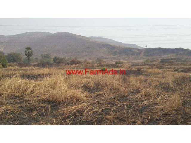34 acres low cost hill type land for sale near Mahad