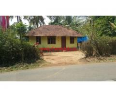 3 acre farm land with a small house for sale in mananthavady