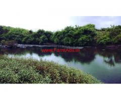 25 Acre River touch agriculture land for sale near Karjat