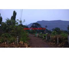 Lowcost Canal touch 7 gunta agri land with house for sale near Karjat