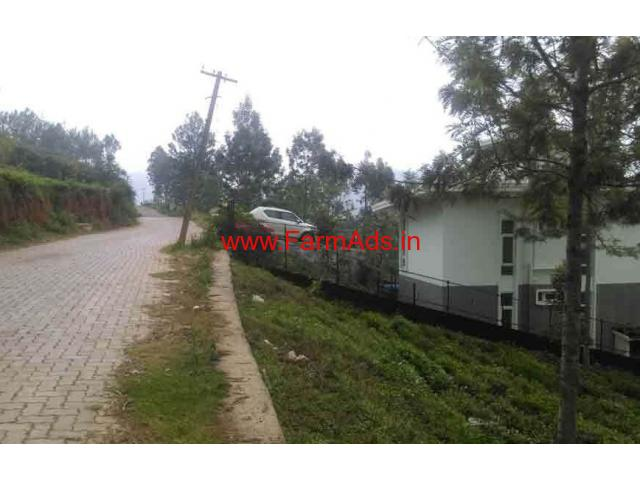 24 Cent farm house plot for sale at Kannarimukku, 3 KMs from Kotagiri