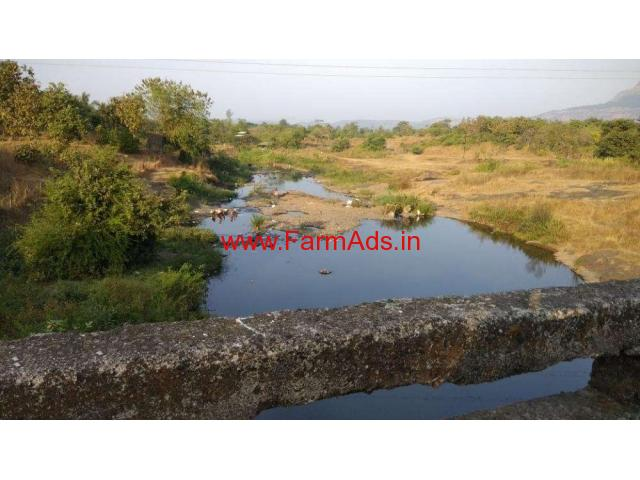 1 Acre River touch agriculture land for sale near Karjat