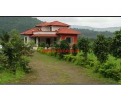 Farmhouse in 60 gunta agricultureland for sale in Mangoan
