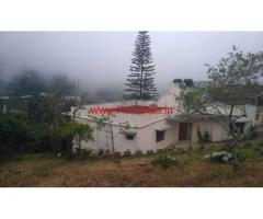 Farm house with 38 cents agriculture land for sale in Kodaikanal