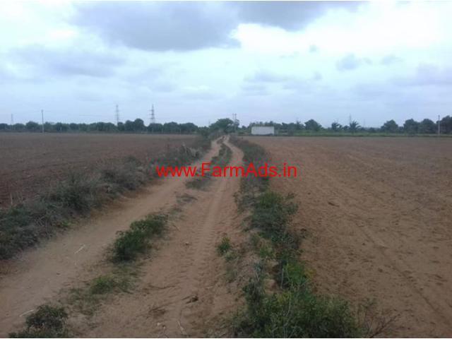 7 acres plain farm land available for sale at Gowribidanur, hunusenahalli