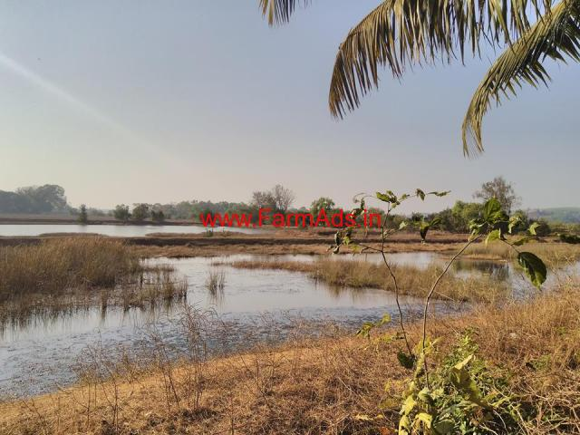 25 acre Fishing Cultivation Land for Sale Located in Karnataka
