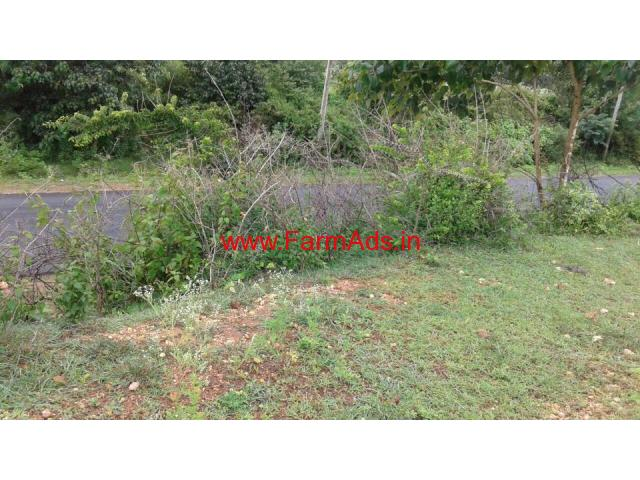 6 acre farm land for sale on Chikkamagaluru belur main road