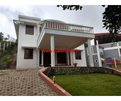 Farm house in 13 cents farm land for sale at Aravenu - Kotagiri