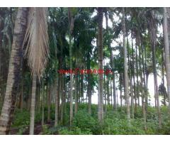 30 Acres river touch farm land for sale 19 km from Hunsur - Mysore