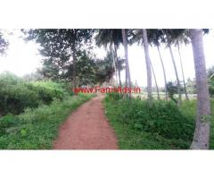 2 acres farm land for sale 13 km from Mysore