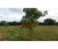 4 acres 10 gunta plain land for sale at Kudnahalii 12 km from Mysore