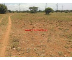 Low budget 3 Acres plain agriculture land for sale close to Poolavadi
