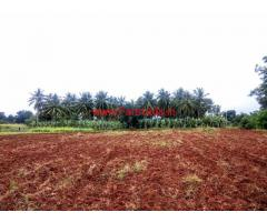 1 Acre 10 Guntas Lake Side Farm Land for sal at Jayapura, Mysore