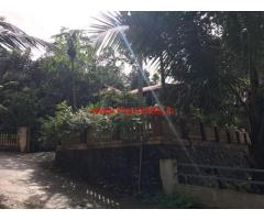 Near kuruvilangad 17 cent land for sale with 2000 sqr ft house