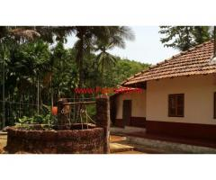 1 acre farm land with farm house for sale at Odiyoor Kanyana