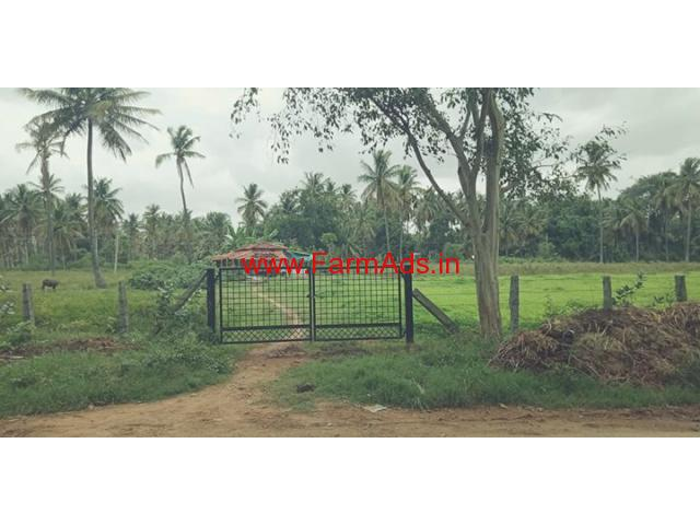 3 acres 5 gunte farm land for sale at Honganur, Chennapatna.