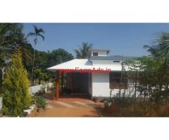 Farm house with 12 cents land for sale at Mananthavady