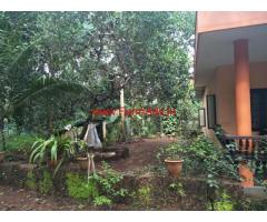 3.40 acre farm land, house for sale at choyamkode. 8 km From nileshwar.