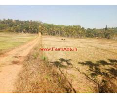 3 acres paddy field for sale at Mananthavady