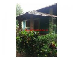 3 old house with 2 acre Beach facing land for sale at Kumta