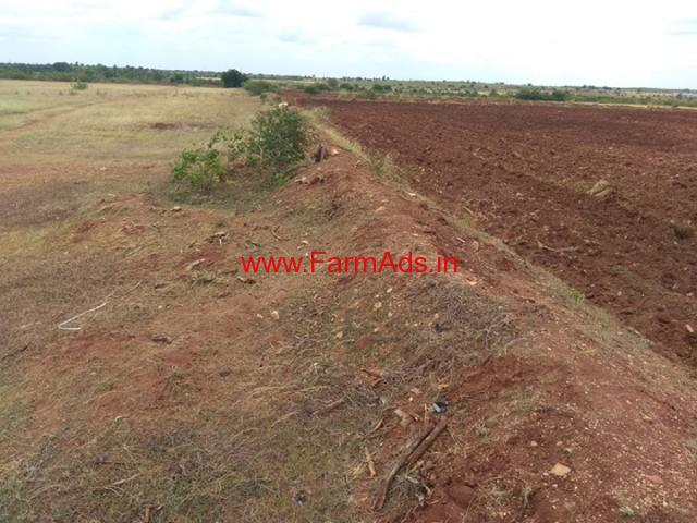 5 acres Farm Land  for sale near Eshwargere Hiriyur. 18 KMS from Town