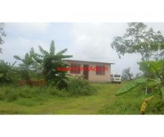 12 Acres land , a newly constructed farm house for sale at Vorkady