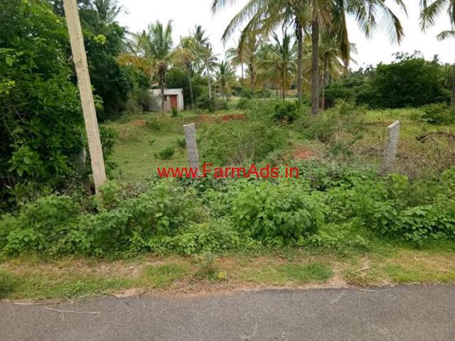 Farm Land for sale 1 Acre 30 guntas with 50 coconut trees, Koratgere taluk