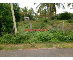 Farm Land for sale 1 Acre 30 guntas with 50 coconut trees, Koratgere taluk