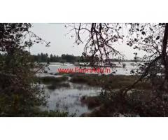 5 acres 20 gunta river touch land for sale, 25 kms from Malavalli town