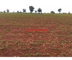 10 Acres Agricultural land for sale near Hoovinahole, Hiriyur