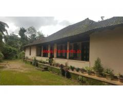 3 acres coffee estate with Farm house for sale at Mananthavady