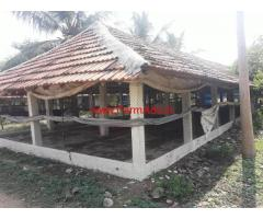 1.35 Acres agriculture land with Poultry farm for sale near Kariyampalayam