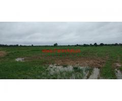 130 acer farm land for sale on Kashampet to Shadnagar road