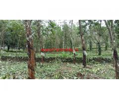 2.5 acre farm plot with 2400 sq ft house for sale at Monipally - Kottayam