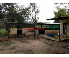 4 Acre farm Land with Cow Shed for rent near Nelamangala - Bangalore